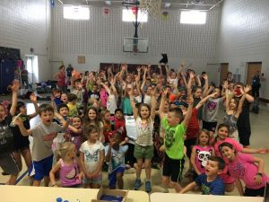 Buckingham Elementary Gives Back
