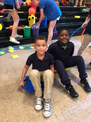iRun4Life Gives Back to Pollock Elementary